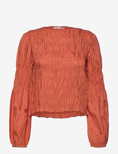 CRHenva Blouse - blouses met lange mouwen - aragon
