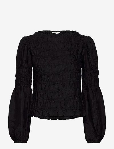 CRHenva Blouse - blouses met lange mouwen - pitch black
