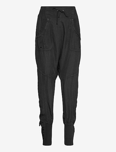 Nanna pants - casual broeken - solid black
