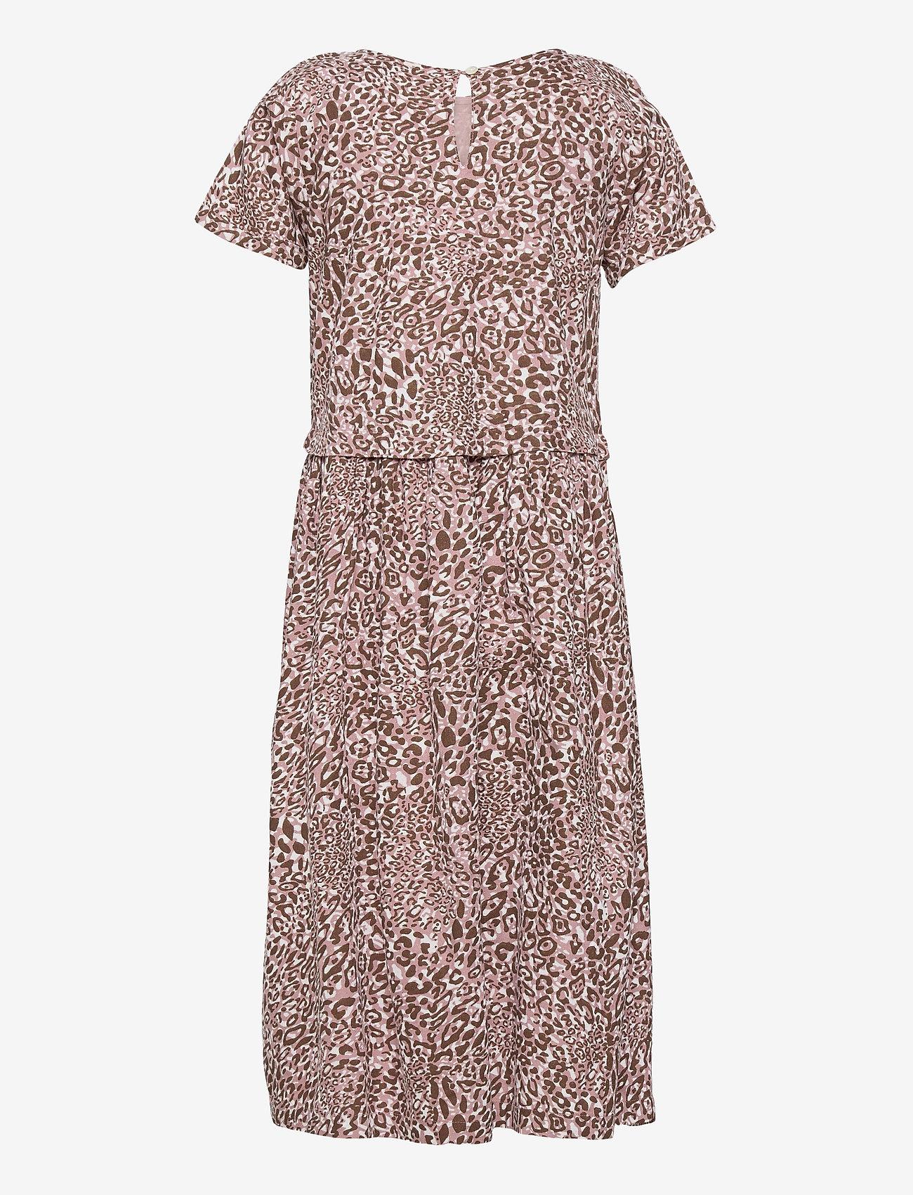 Creamie - Dress Leo - jurken - adobe rose - 1