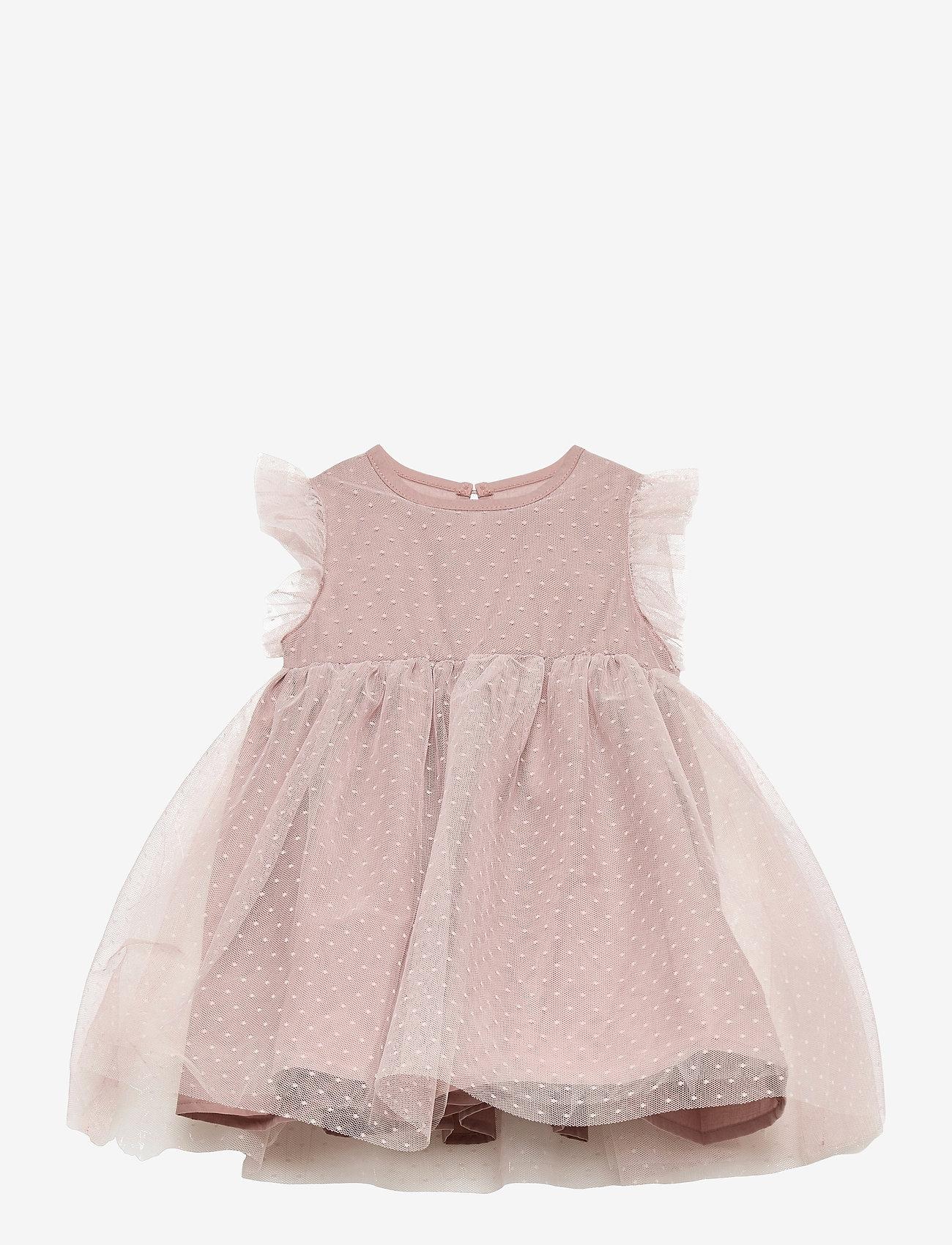Creamie - Dress Mesh - kleider - adobe rose - 0