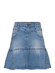 Skirt Denim - LIGHT BLUE DENIM