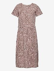 Creamie - Dress Leo - jurken - adobe rose - 0