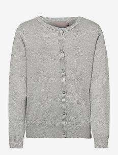 Creamie Cardigan - gilets - light grey melange