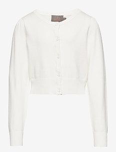 Creamie Short Cardigan - gilets - cloud
