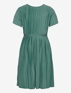 Dress Plissé Jersey - kjoler - teal green