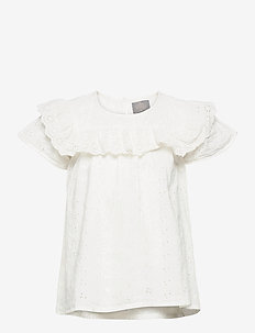 Blouse Embroidery - chemisiers & tuniques - cloud
