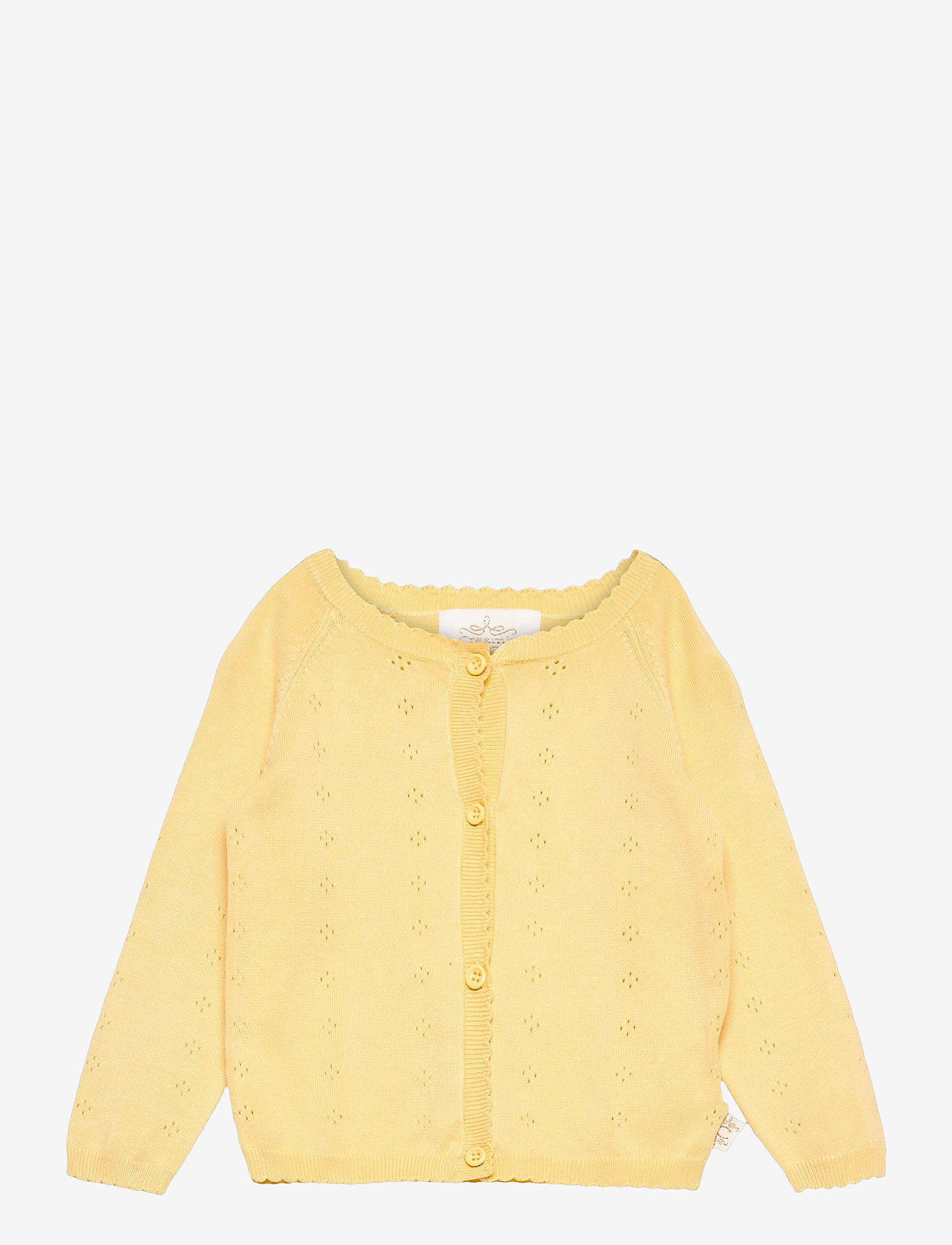 Creamie - Cardigan Pointelle - gilets - sundress - 0