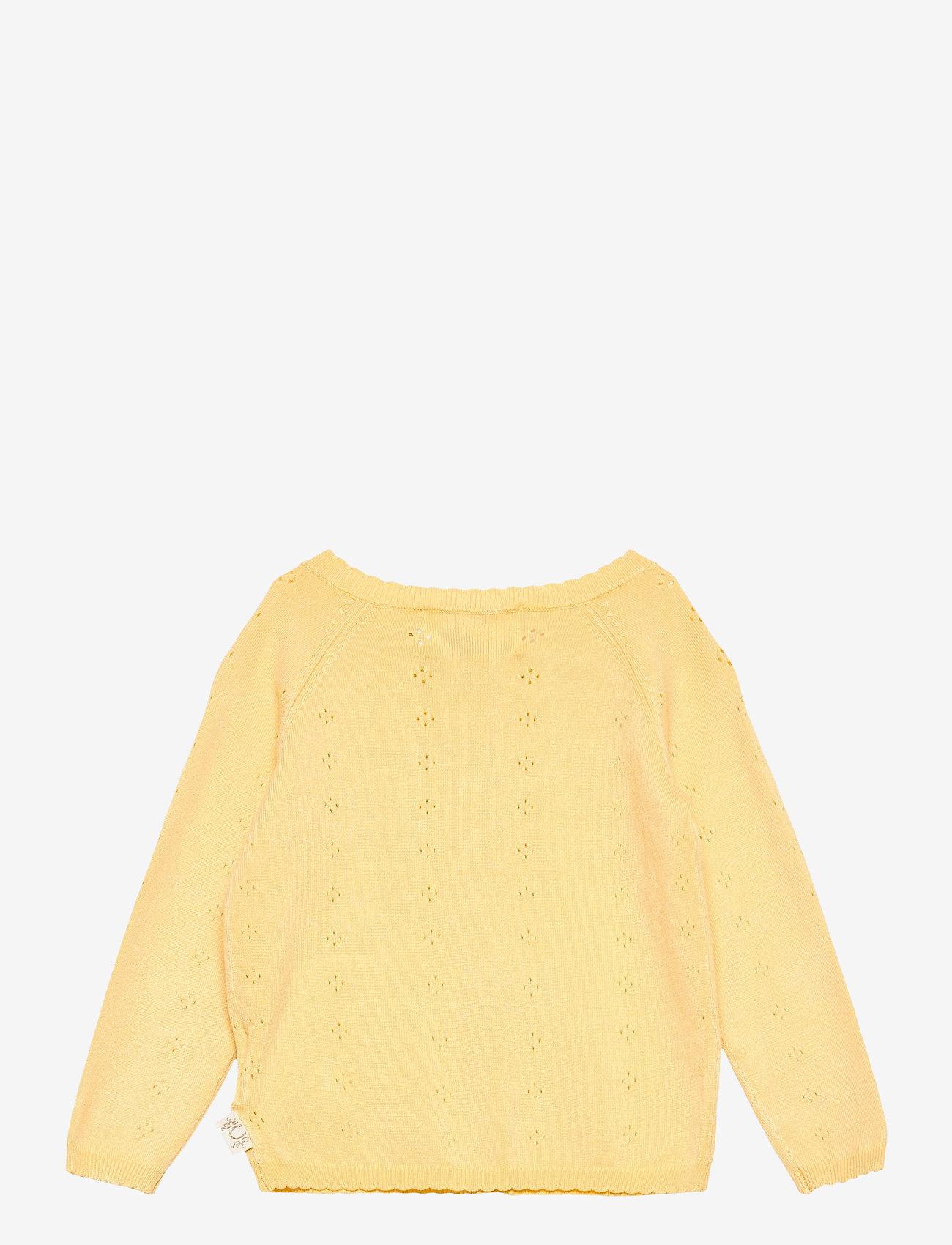 Creamie - Cardigan Pointelle - gilets - sundress - 1