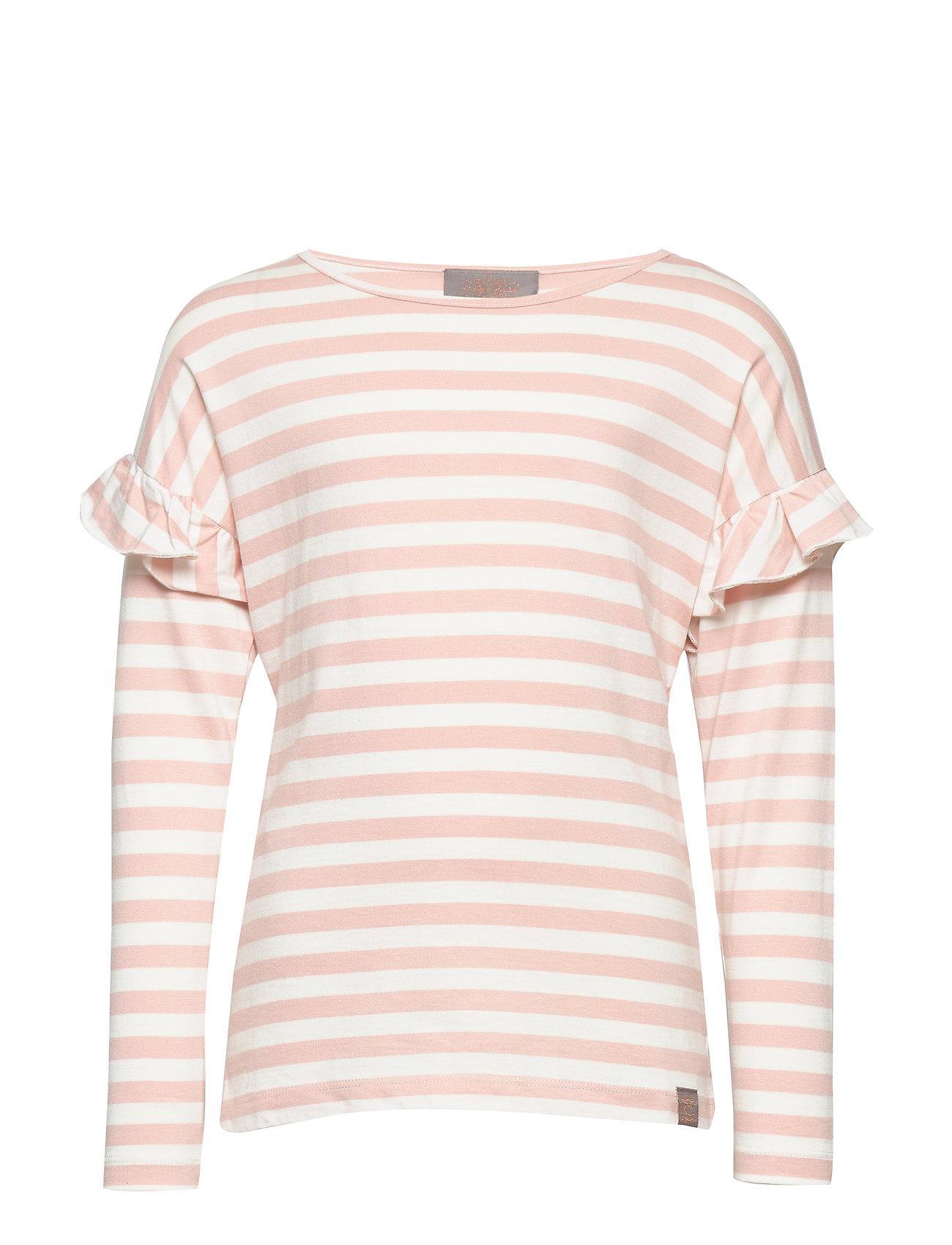 Creamie T-Shirt Stripe LS - CLOUD