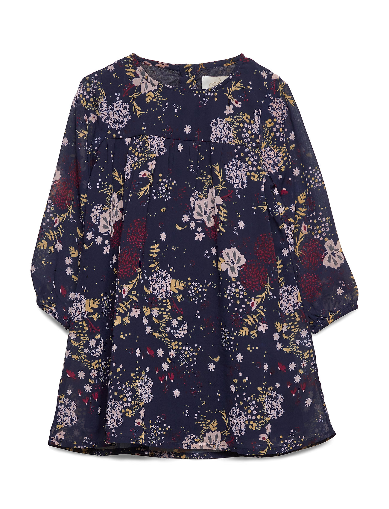 Creamie Dress Printed Chiffon - TOTAL ECLIPSE