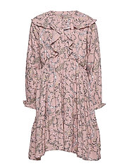 Dress Wimsical Print - ROSE SMOKE