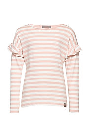 T-Shirt Stripe LS - CLOUD