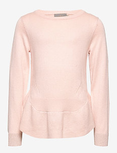 Pullover Wool Knit - ROSE SMOKE