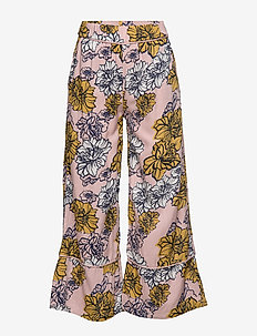 Pants Wallpaper Flowers - ROSE SMOKE
