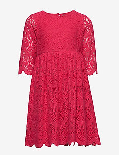 Dress Lace - CRIMSON