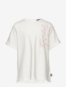 T-Shirt Flower SS - CLOUD