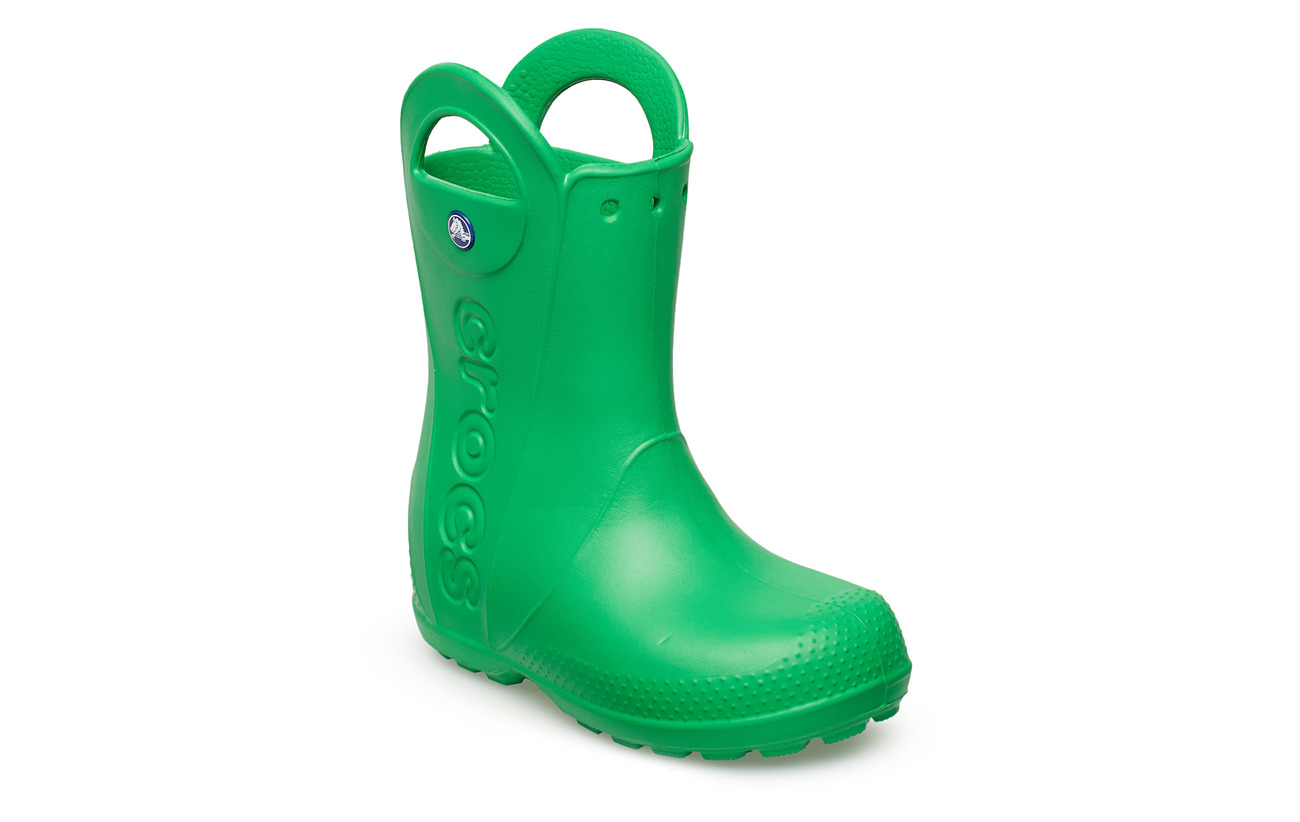 Crocs Handle It Rain Boot Kids - GRASS GREEN