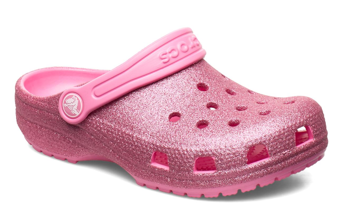 Crocs Classic Glitter Clog (Pink