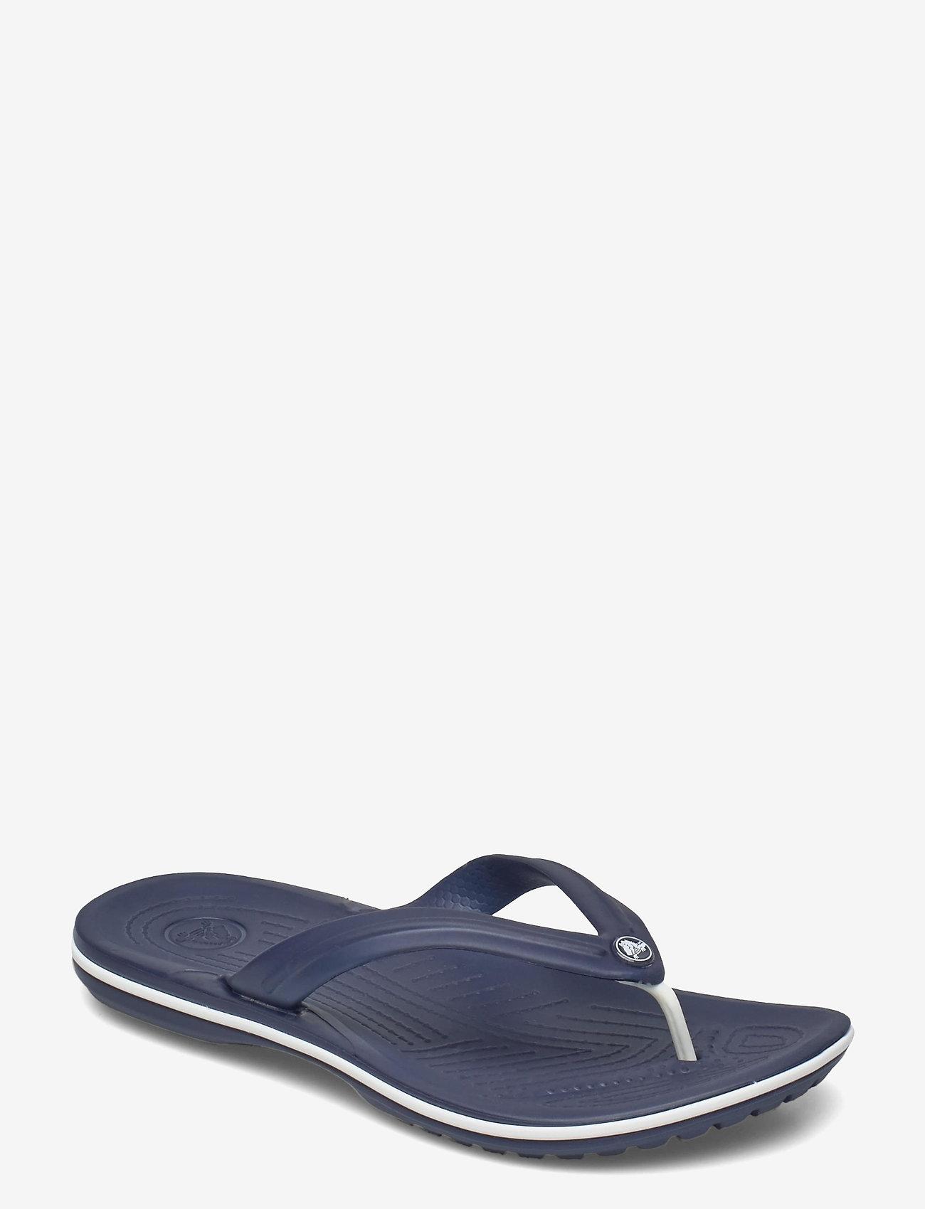 Crocs - Crocband Flip - teen slippers - navy - 0