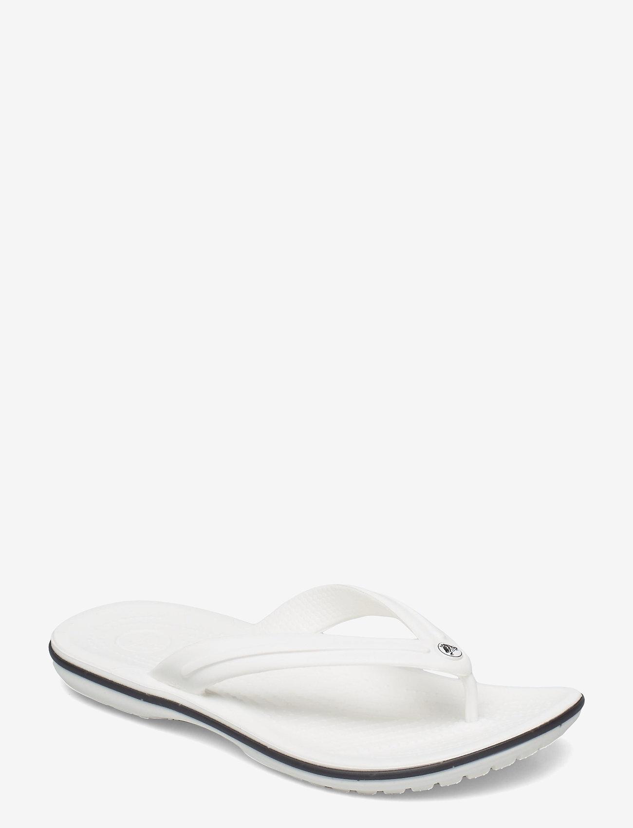 Crocs - Crocband Flip - teen slippers - white - 0