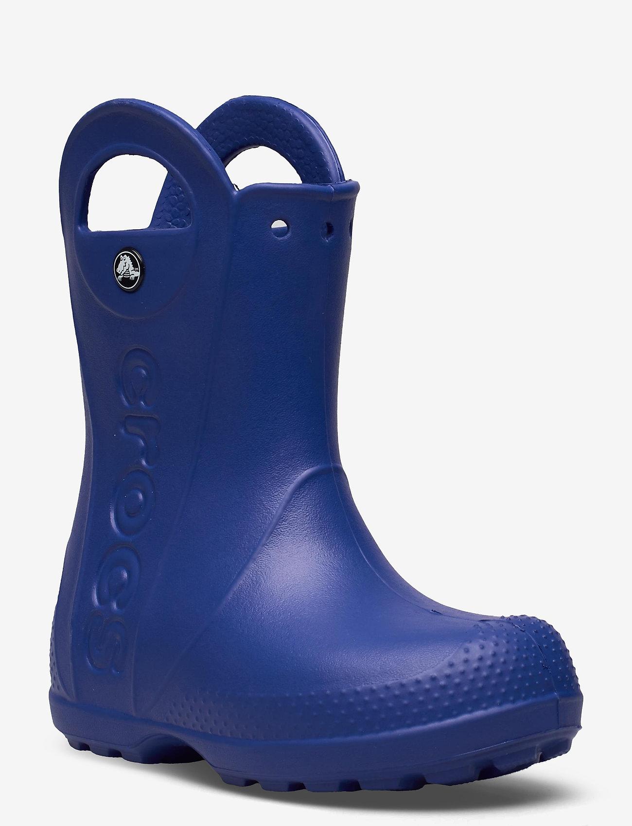 Crocs - Handle It Rain Boot Kids - ofodrade gummistövlar - cerulean blue - 0