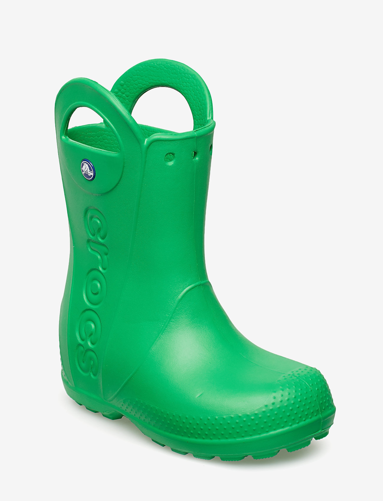 Crocs - Handle It Rain Boot Kids - kumisaappaat - grass green - 0