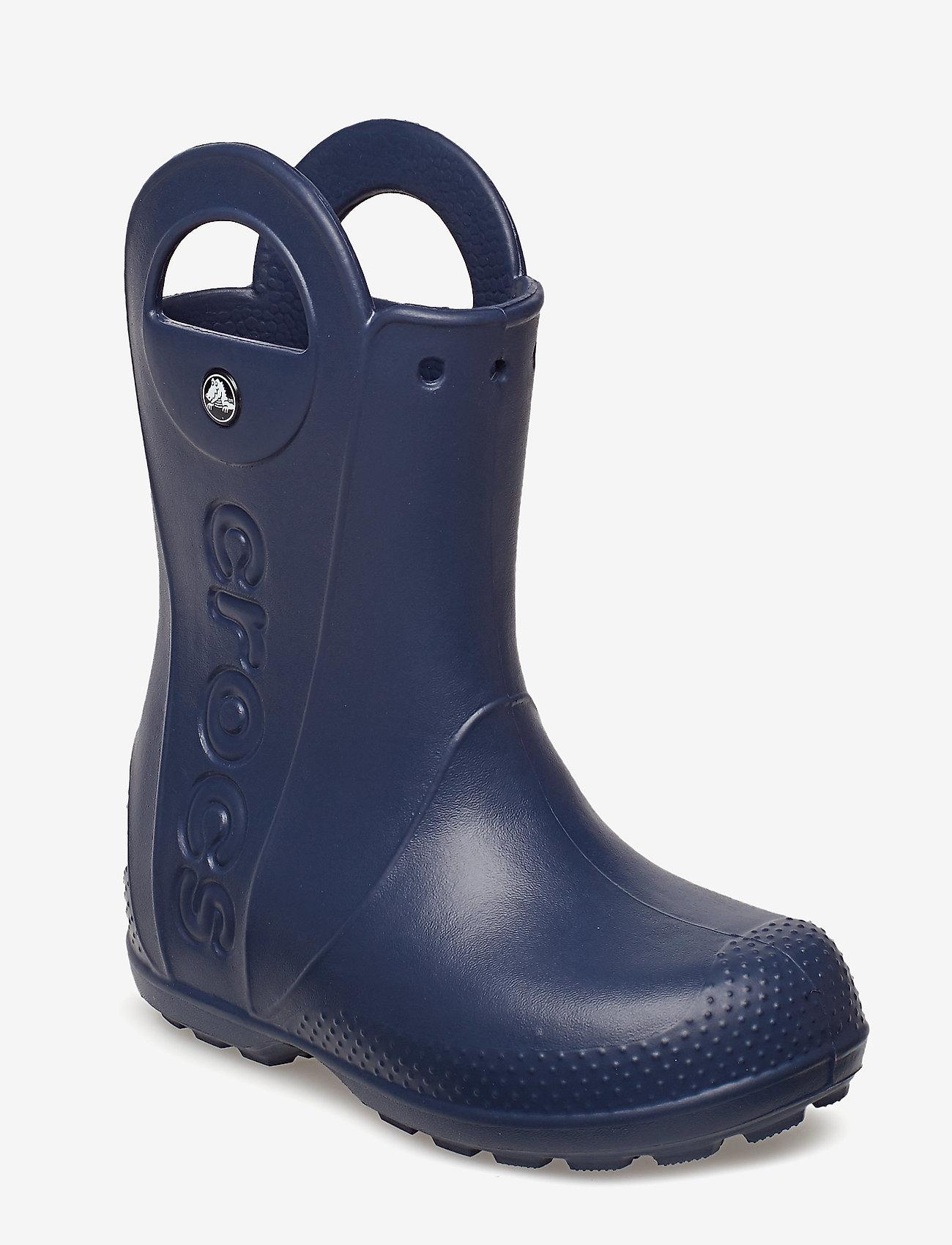Crocs - Handle It Rain Boot Kids - ungefütterte gummistiefel - navy - 0
