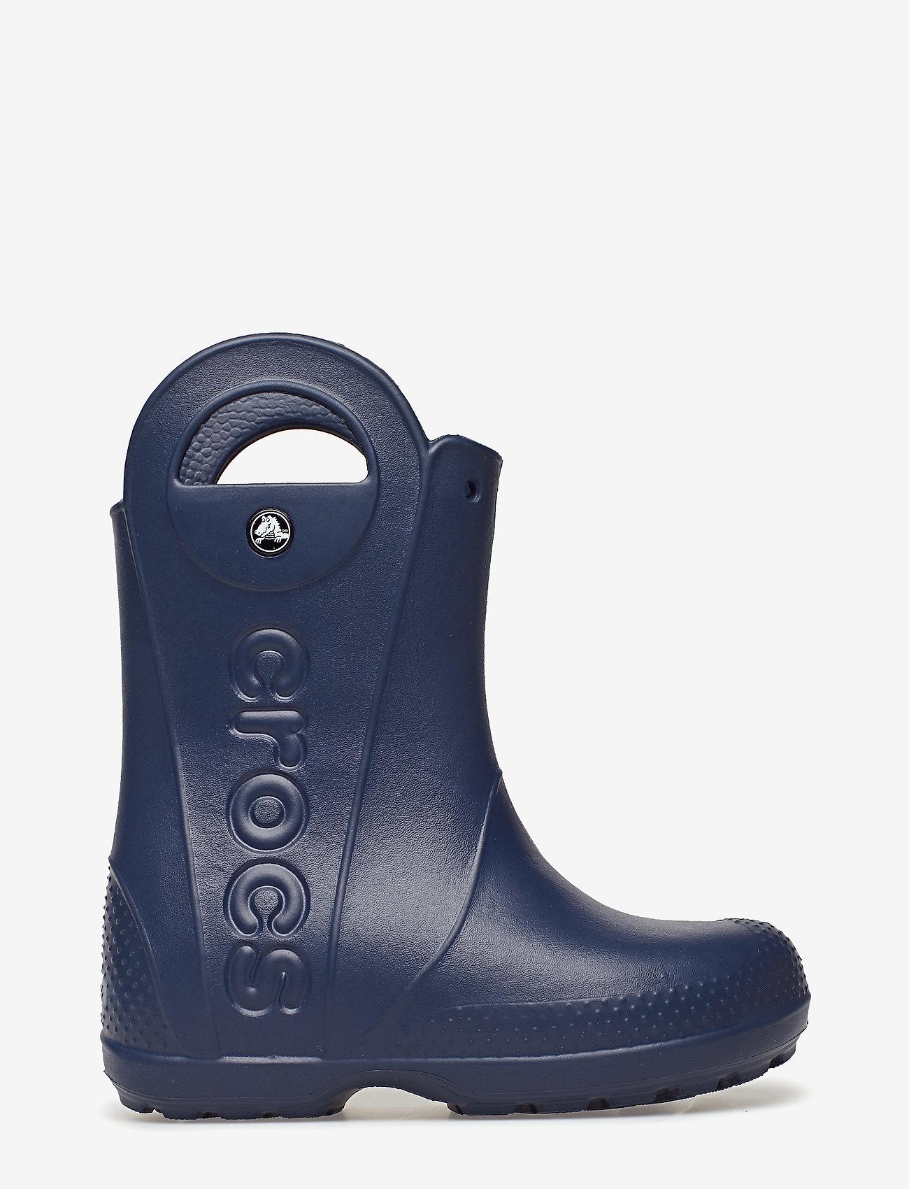 Crocs - Handle It Rain Boot Kids - ungefütterte gummistiefel - navy - 1