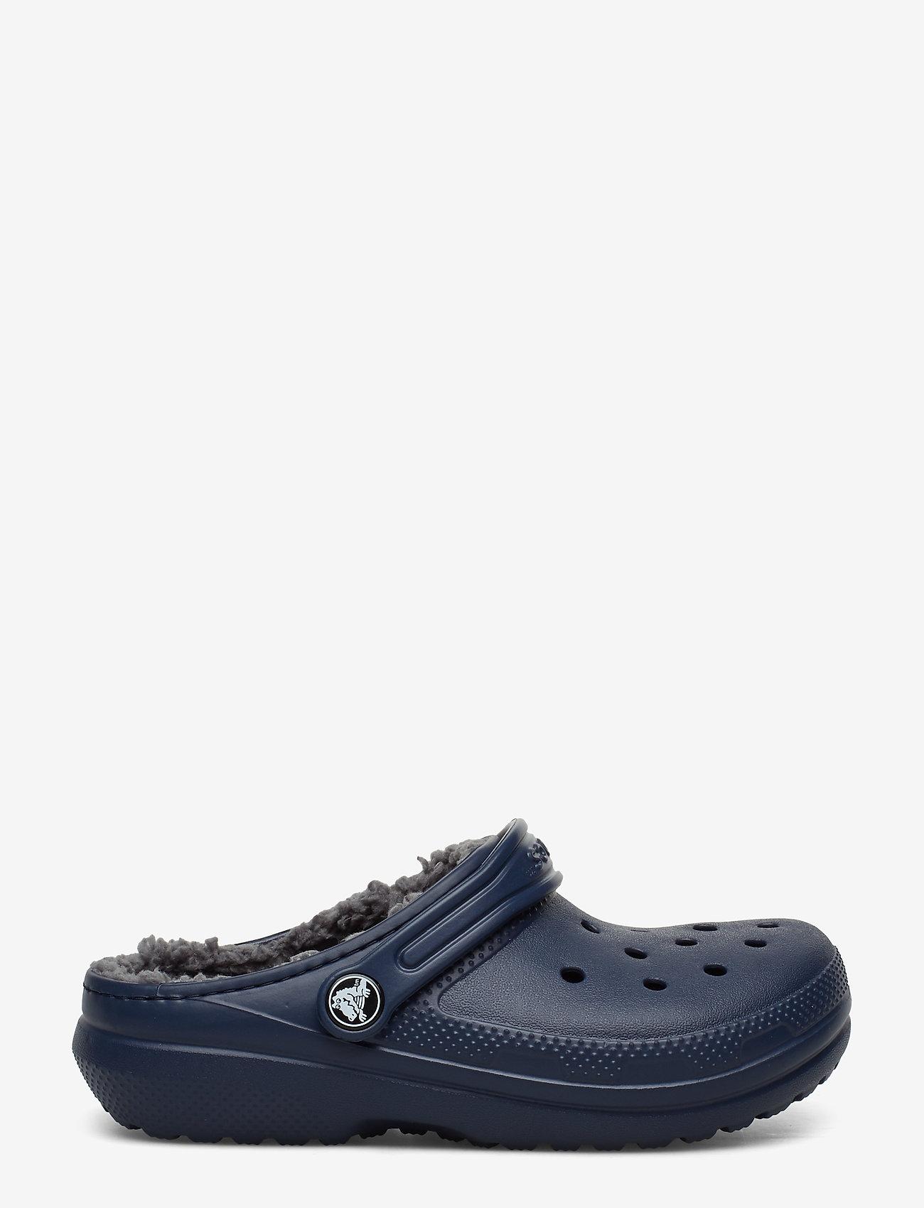 Crocs - Classic Lined Clog K - navy/charcoal - 1