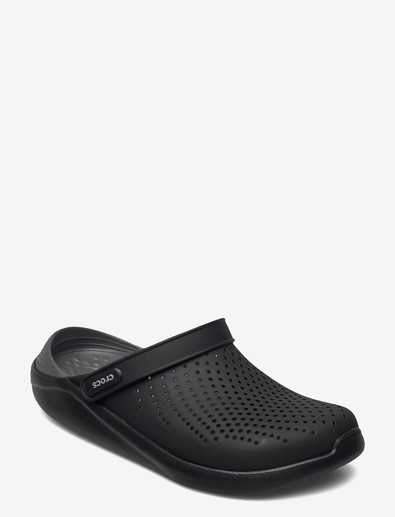 Crocs - LiteRide Clog - pool sliders - black/slate grey - 0