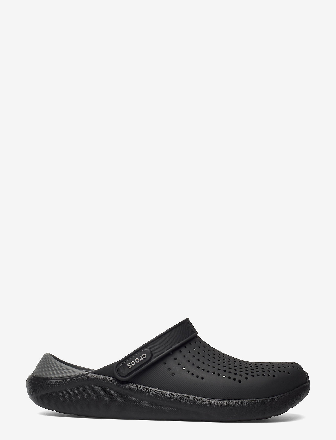 Crocs - LiteRide Clog - pool sliders - black/slate grey - 1