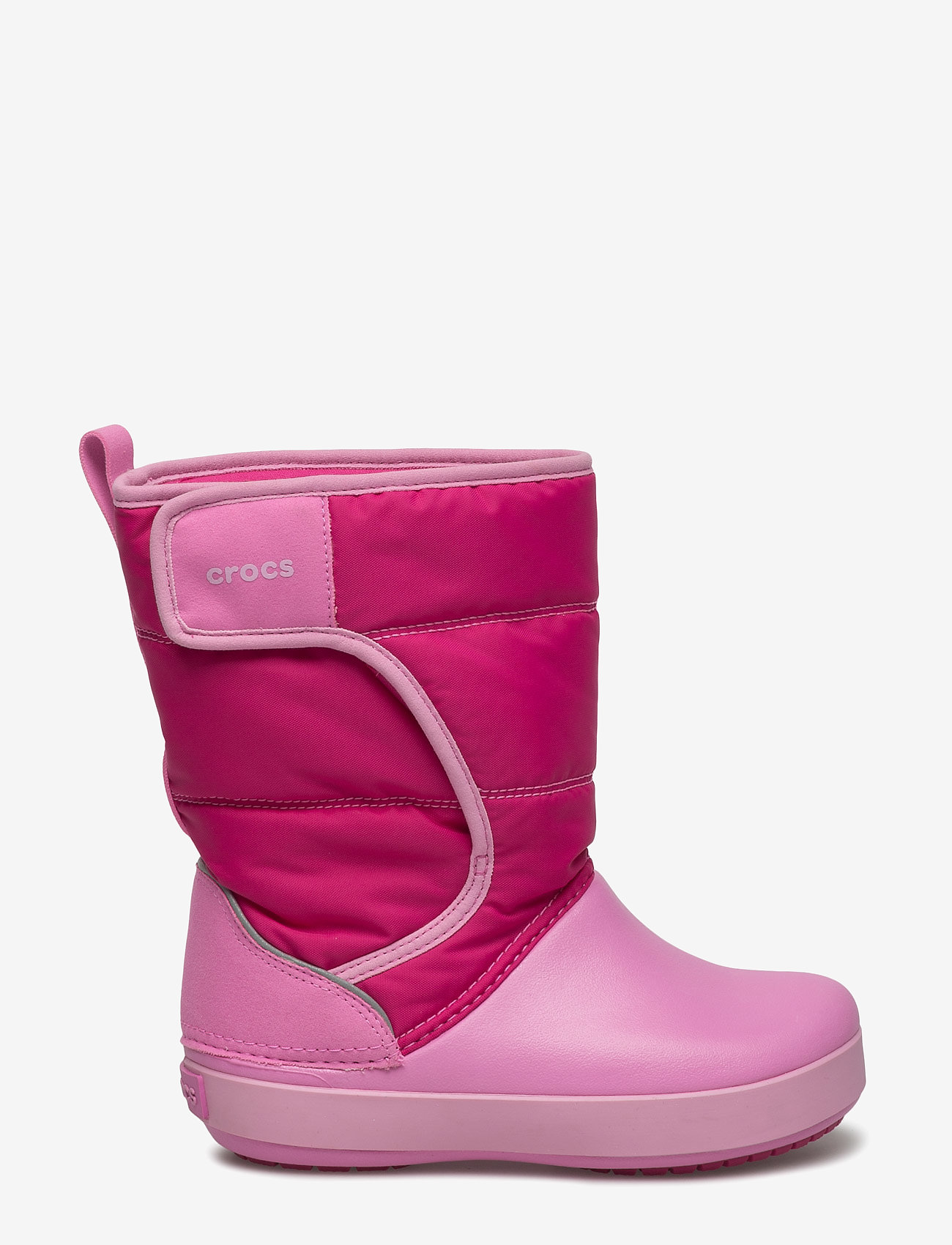 Crocs LodgePoint Talvikengät Lapset, candy pinkparty pink