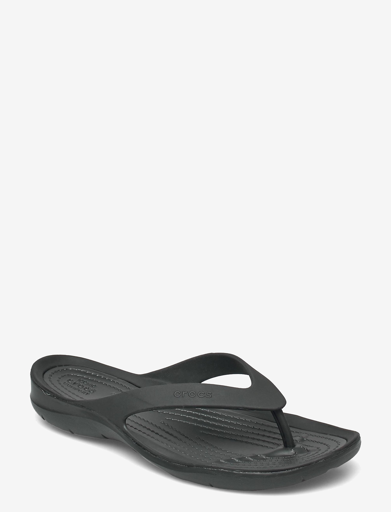 Crocs - Swiftwater Flip W - teenslippers - black/black - 0