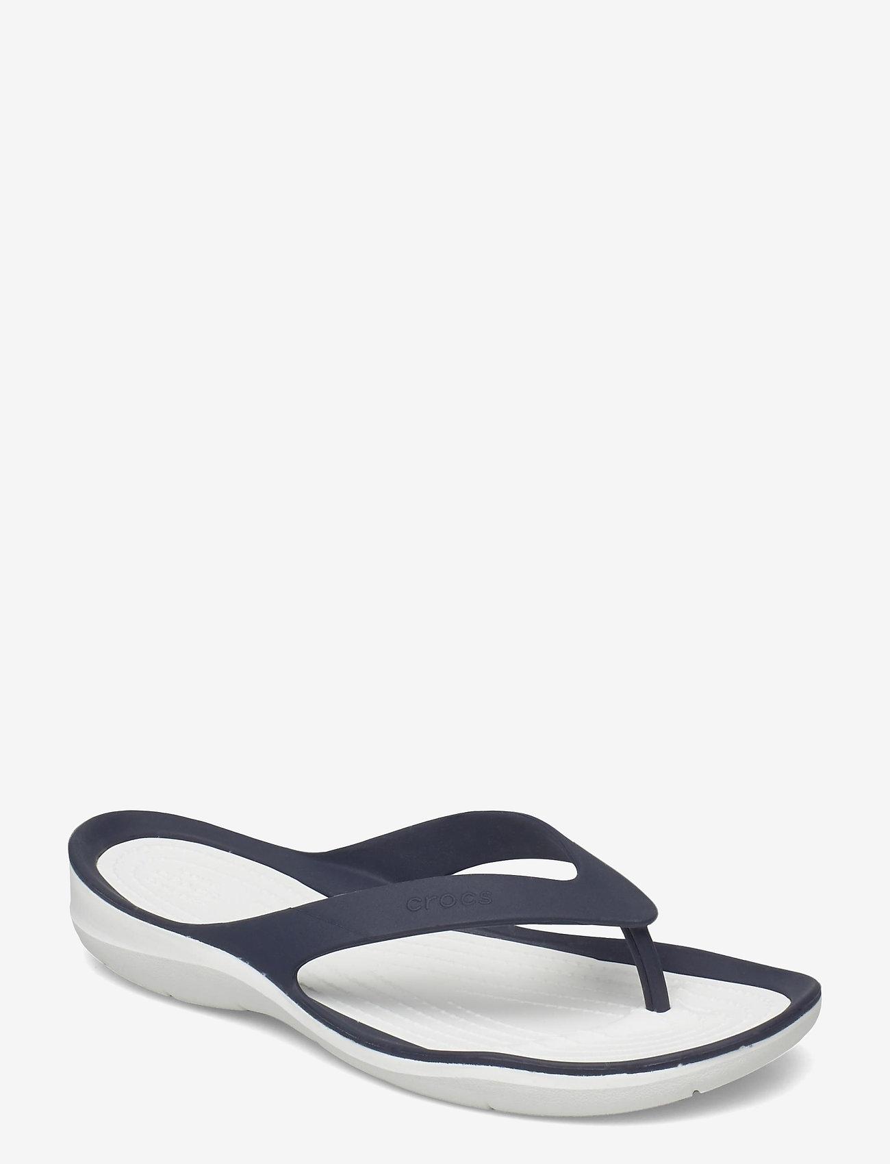 Crocs - Swiftwater Flip W - teenslippers - navy/white - 0
