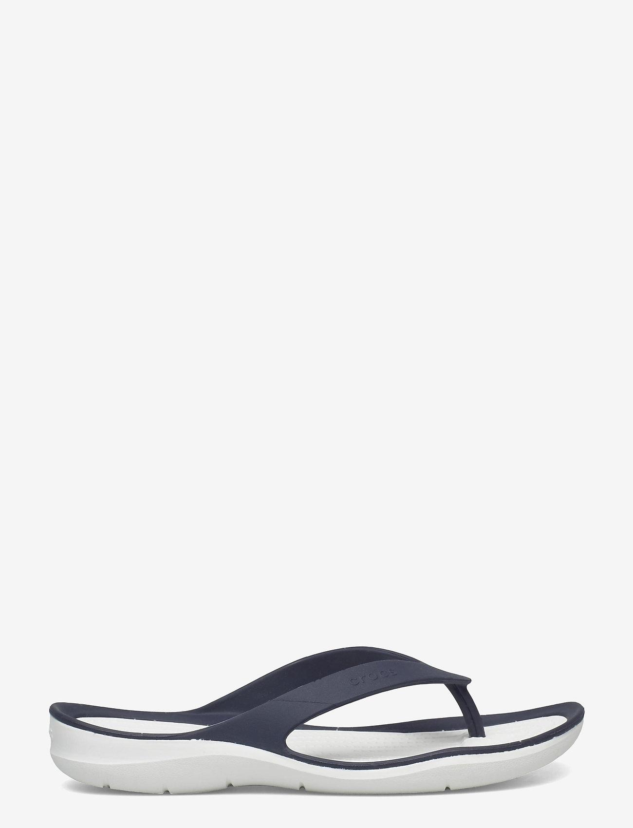 Crocs - Swiftwater Flip W - teenslippers - navy/white - 1