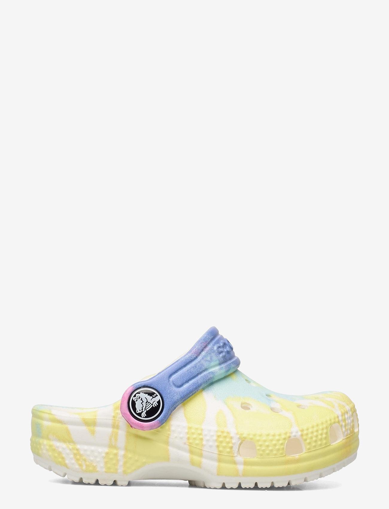 Crocs - Classic Tie Dye Graphic Clog K - white/multi - 1