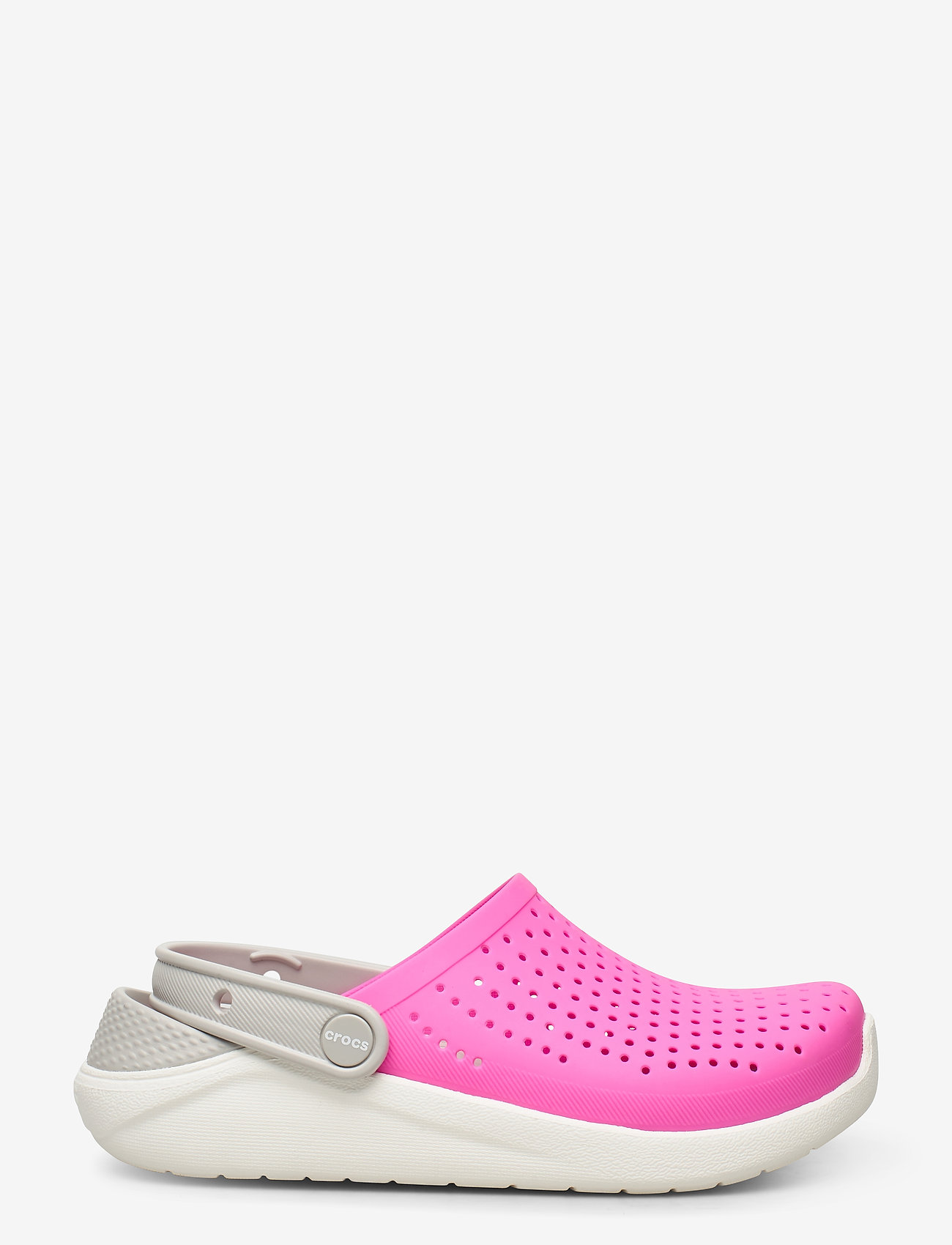 Crocs - LiteRide Clog K - electric pink/white - 1