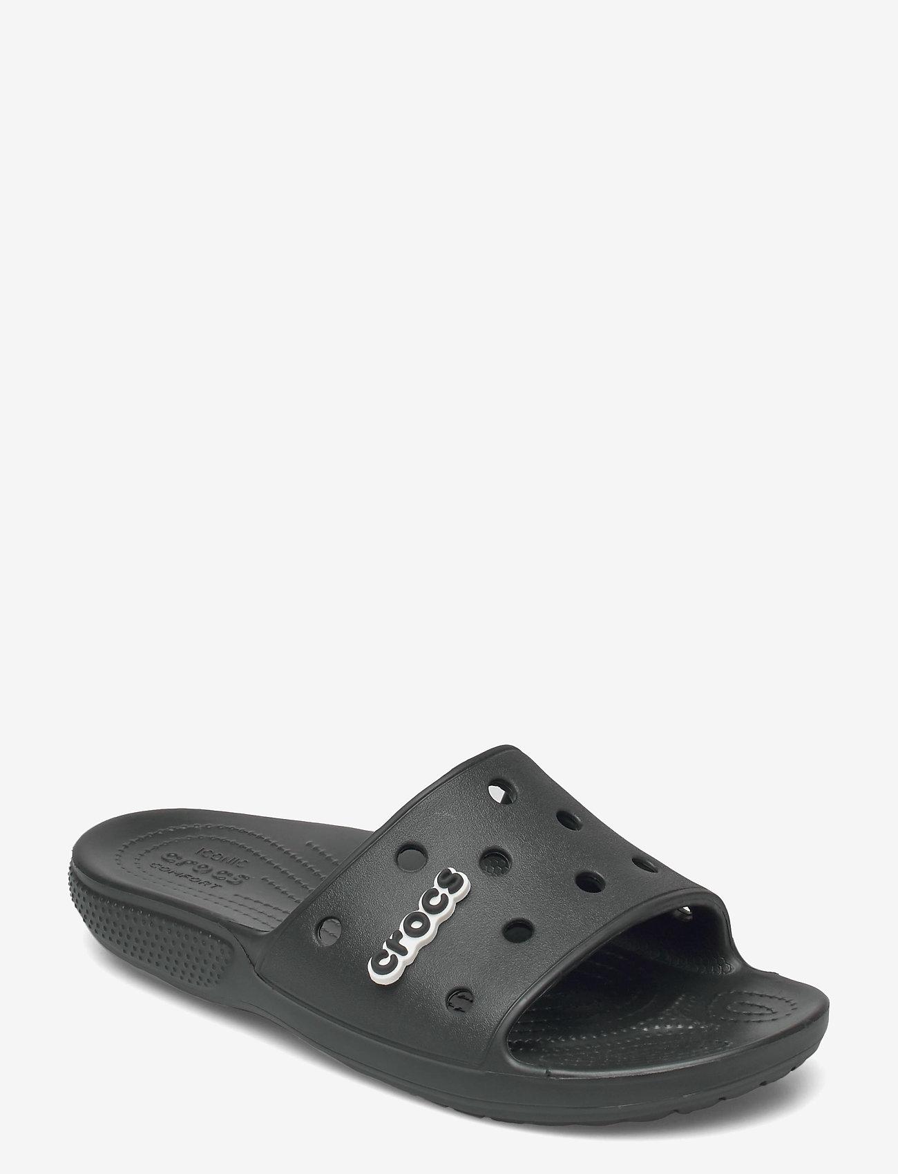 Crocs - Classic Crocs Slide - pool sliders - black - 0