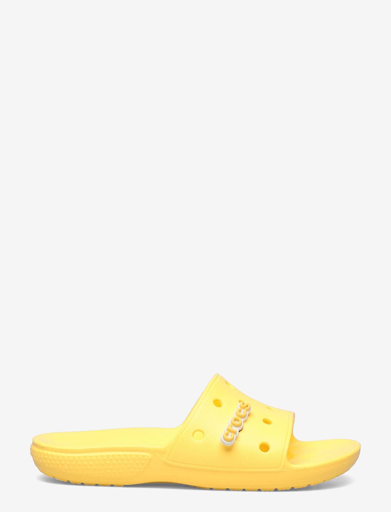 Crocs - Classic Crocs Slide - pool sliders - lemon - 1