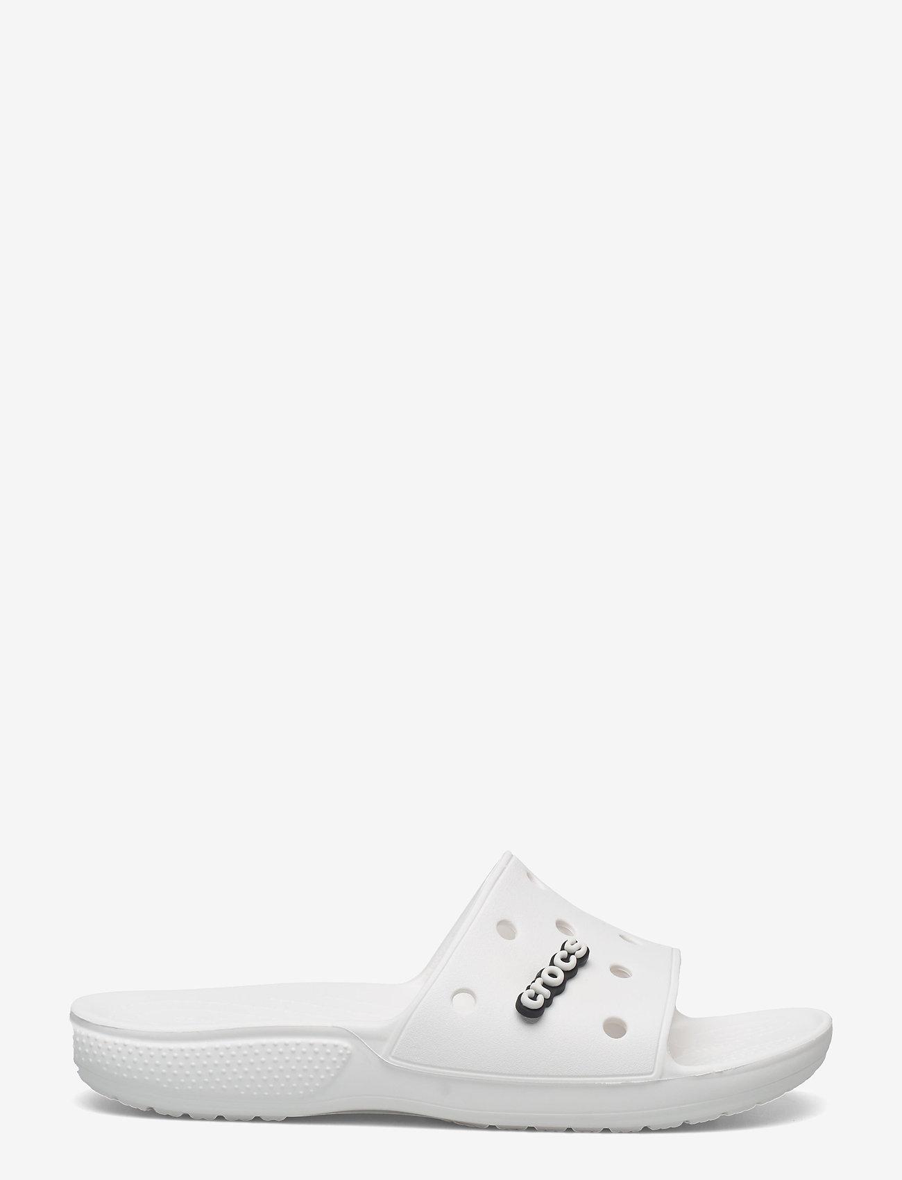 Crocs - Classic Crocs Slide - pool sliders - white - 1