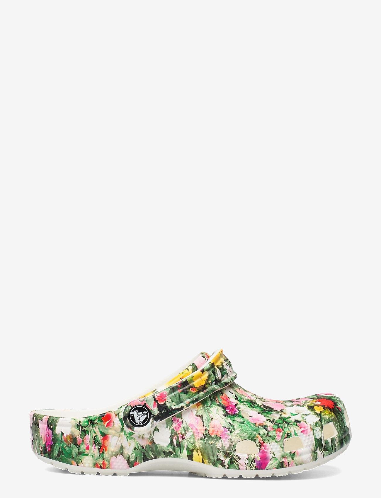 Crocs - Classic Printed Floral Clog - white/multi - 1