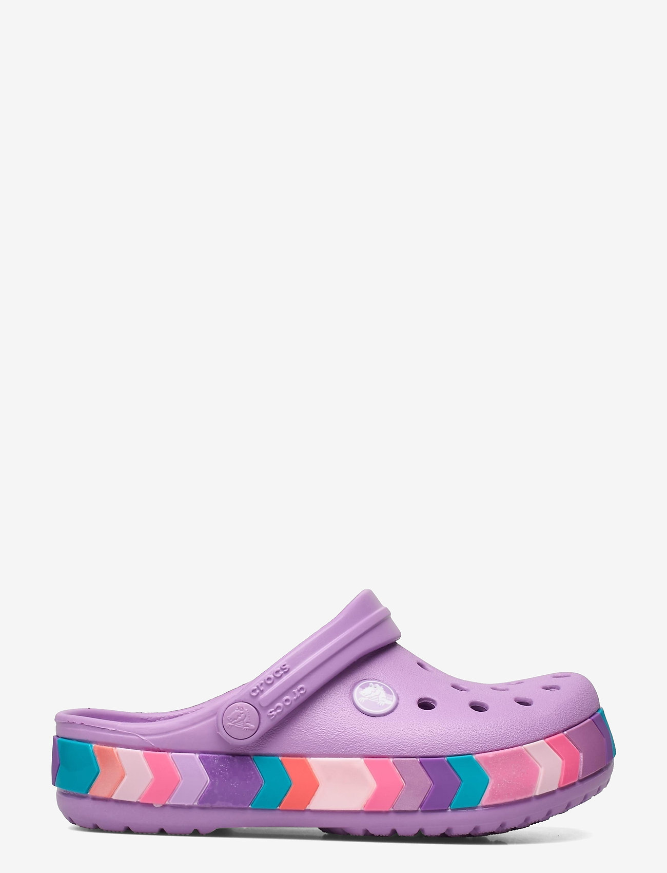 Crocs - Crocband Chevron Beaded Clog K - crocs - orchid - 1