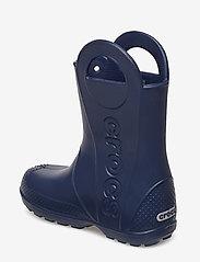 Crocs - Handle It Rain Boot Kids - ungefütterte gummistiefel - navy - 2