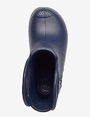 Crocs - Handle It Rain Boot Kids - ungefütterte gummistiefel - navy - 3