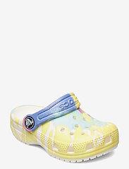 Crocs - Classic Tie Dye Graphic Clog K - white/multi - 0