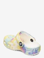 Crocs - Classic Tie Dye Graphic Clog K - white/multi - 2