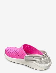 Crocs - LiteRide Clog K - electric pink/white - 2
