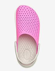 Crocs - LiteRide Clog K - electric pink/white - 3