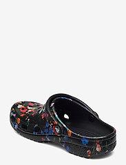Crocs - Classic Printed Floral Clog - black/multi - 2